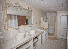 Le gîte - Salle d'eau double vasque