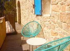 Suite Étage - La terrasse